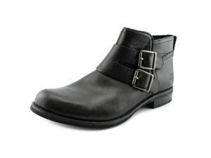 Timberland Savin Hill Double Buckle Women US 8.5 Black Ankle Boot