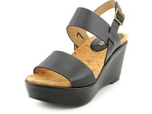 Report Wilton  Women US 6 Black Wedge Sandal
