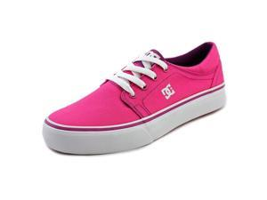 DC Shoes Trase TX Youth US 7 Pink Skate Shoe