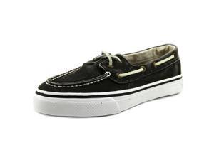 Sperry Top Sider Bahama 2-Eye Men US 8.5 Black Boat Shoe UK 7.5