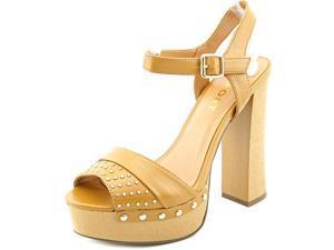 Report Meeshka Women US 7 Tan Platform Sandal
