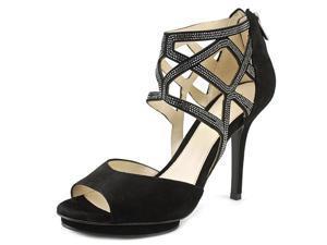 Pelle Moda Razzi Women US 9.5 Black Sandals