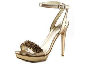 Pelle Moda Filia Women US 8 Gold Platform Sandal