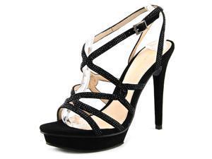 Pelle Moda Farah Women US 8.5 Black Sandals