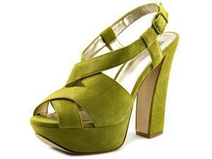 Pelle Moda Billow Women US 10 Green Platform Sandal