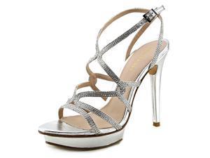 Pelle Moda Farah Women US 7.5 Silver Sandals