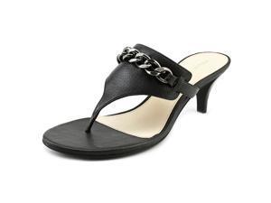 Pelle Moda Taci Women US 8 Black Sandals