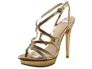 Pelle Moda Farah Women US 9 Gold Sandals