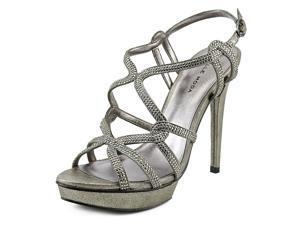 Pelle Moda Flirt Women US 9.5 Bronze Platform Sandal