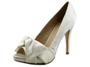 Pelle Moda Whitby Women US 6 White Peep Toe Heels
