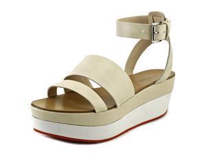 Pelle Moda Hadi Women US 7.5 Nude Platform Sandal