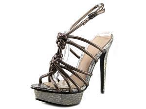 Pelle Moda Mona Women US 6.5 Bronze Platform Sandal