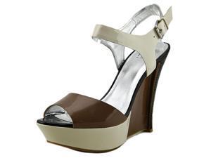 Pelle Moda Warren Women US 8.5 Brown Wedge Heel
