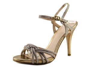 Pelle Moda June Braided Sandal Women US 7.5 Gold Sandals