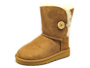 Ugg Australia T Bailey Button Toddler US 6 Brown Winter Boot