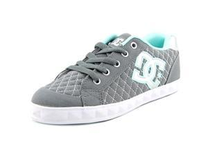 DC Shoes Chelsea Stud Youth US 2.5 Gray Skate Shoe