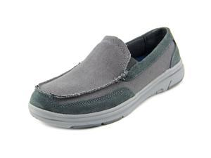 Dr. Scholl's Grand Canvas Slip On Men US 11 Gray Loafer