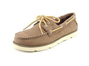 Sperry Top Sider Leeward Youth US 5 Brown Moc Boat Shoe