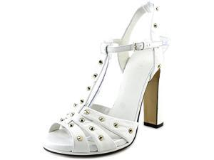 Gucci Melville Stud Women US 10 White Sandals EU 40