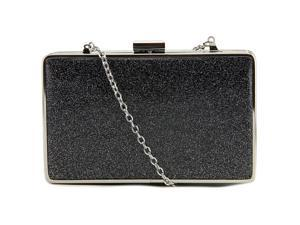 Jessica McClintock Ella Women Black Evening Bag