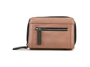Kenneth Cole Reaction Zip Around Indexer Women Pink Wristlet NWT