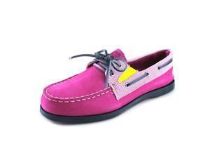 Sperry Top Sider A/O Slip On Youth US 12.5 Pink Boat Shoe