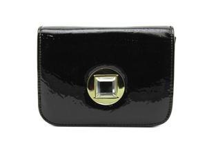 Jessica McClintock Anna Clutch Women Black Clutch