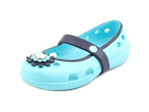 Crocs Keeley Petal Charm Toddler US 6 Blue Mary Janes
