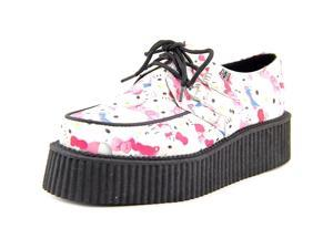 T.U.K. Hello Kitty Toys Mondo Creeper Women US 8 Multi Color Oxford
