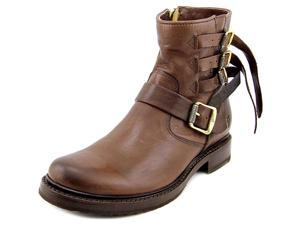 Frye Veronica Strap Short Women US 7 Brown Ankle Boot