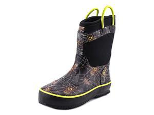 Western Chief Spider Prey Neoprene Youth US 2 Black Rain Boot
