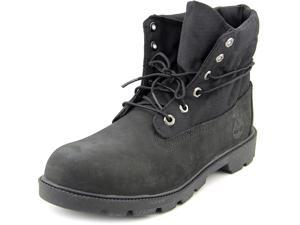 Timberland Roll Top Youth US 6.5 Black Boot UK 6