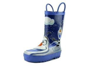 Western Chief Disney Frozen Olaf Youth US 1 Blue Rain Boot UK 13 EU 32