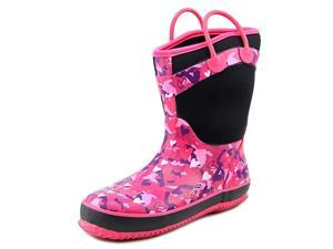 Western Chief Heart Camo Neoprene Youth US 3 Pink Rain Boot
