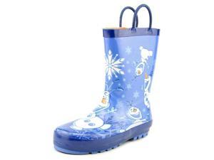 Western Chief Frozen Warm Hugs Youth US 13 Blue Rain Boot