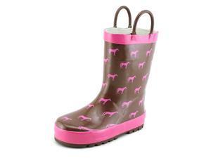 Western Chief Tiny Horses Toddler US 10 Brown Rain Boot UK 10 EU 27