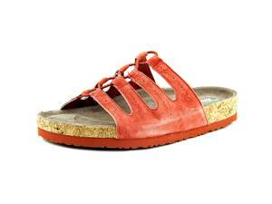 Skechers Relaxed Fit Granola Wrap It Up Women US 9 Red Slides Sandal