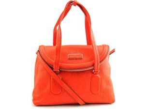 Marc By Marc Jacobs Silicone Valley Satchel Women Orange Satchel NWT