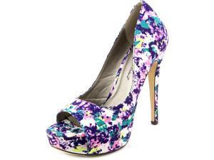 Michael Antonio Kistnie Women US 7.5 Multi Color Platform Heel