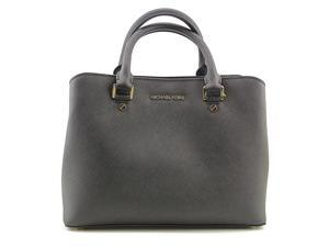 Michael Michael Kors Savannah Medium Satchel Women Black Satchel