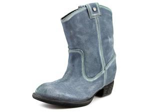 Diesel Ladala Women US 7 Blue Western Boot EU 37