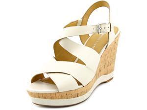 Franco Sarto Shiver Women US 6 Tan Wedge Sandal
