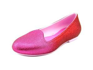Crocs Eve Sparkle Youth US 2 Pink Flats