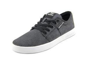 Supra Stacks II Men US 7.5 Gray Skate Shoe