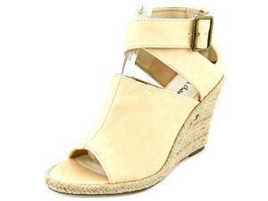 Michael Antonio Gins Women US 7.5 Nude Wedge Sandal