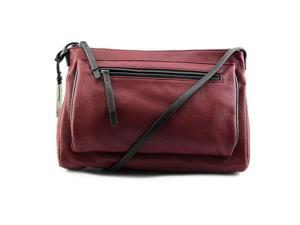 Kenneth Cole Reaction Pied Piper Crossbody Women Burgundy NWT