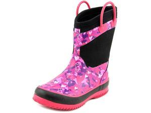 Western Chief Heart Camo Neoprene Youth US 11 Pink Rain Boot