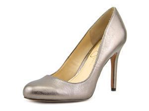 Jessica Simpson Rony Women US 8 Silver Heels