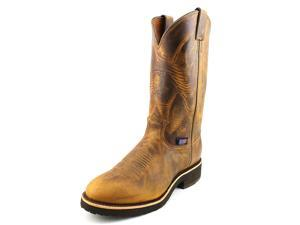 Chippewa Crazy Horse Round Toe Men US 11 Brown Western Boot
