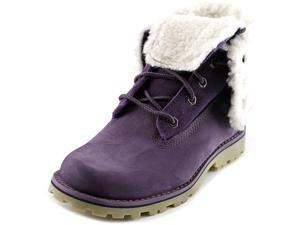 Timberland 6-in WP Faux Shearling Boot Purple Youth US 13.5 Purple